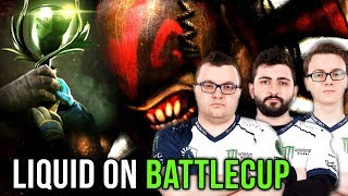 Miracle + Liquid on North America Battlecup - Tactic Practice for TI8 - Dota 2