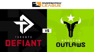 Toronto Defiant vs Houston Outlaws | Hosted by Houston Outlaws | Day 2
