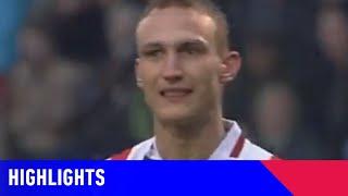 RUIME OVERWINNING VOOR WILLEM II | Willem II - Feyenoord (21-03-1999) | Highlights
