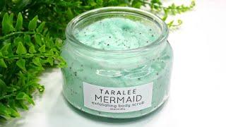 How To Make Aesthetic Mermaid Body Scrub