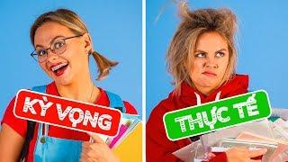 TRỞ LẠI TRƯỜNG HỌC: KỲ VỌNG VS THỰC TẾ    Các tình huống hài hước bởi 123 GO!