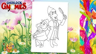Sherlock Gnomes 2018 Drawing Gnomeo And Juliet