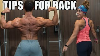 Tips to Improve Your Back  - Grow a Bigger Back - Organizing Your Work Area