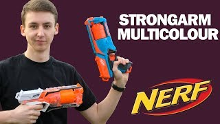 Nerf Strongarm multicolor Unboxing, Review & Test | MagicBiber [deutsch]