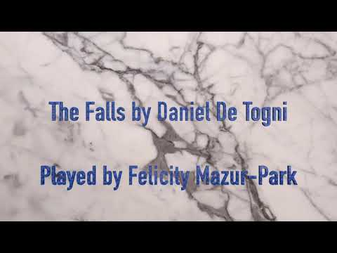 The Falls by Daniel De Togni performed as part of my Festive Call For Scores concert at At Dallas Public Library on December 22, 2018