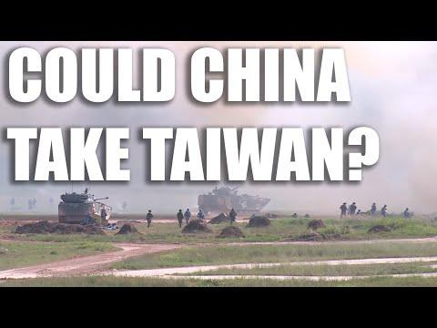 Jak by vypadala čínská invaze na Tchaj-wan?