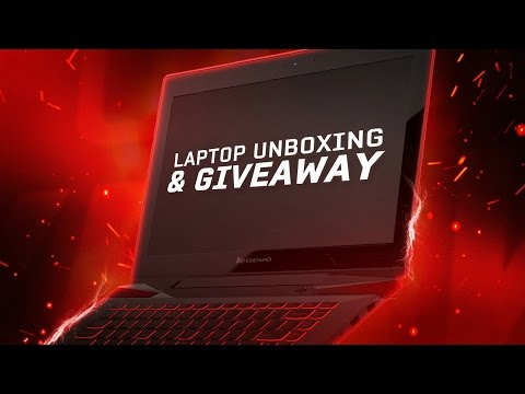LENOVO Y40 LAPTOP UNBOXING + GIVEAWAY!