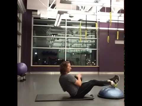 Seated Side Weighted Touches