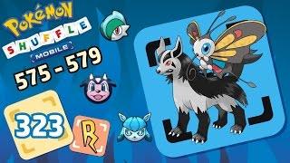 Beautifly  - (Pokémon) - Pokémon Shuffle Mobile - Mightyena, Beautifly, etc! [575  -579]