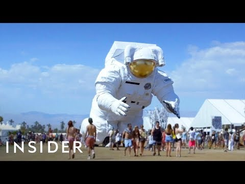 Building the Massive Coachella Astronaut