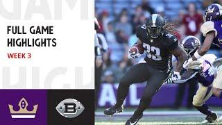 AAF Football League | Birmingham Iron Vs Atlanta Legends Week 3 FULL Game