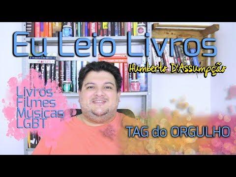 #TAG do ORGULHO - Happy Pride! - Eu Leio Livros