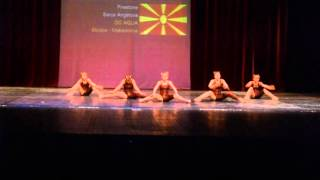 AQUA | Skopje Open 2015 - 1st place Jazz Group Junior / Firestone