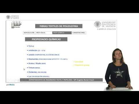 Fibra textil poliolefina | | UPV