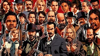 All 23 Gang Members Endings (Fates) Red Dead Redemption 2