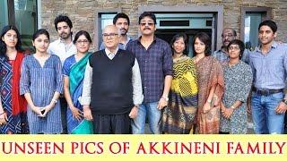 Akkineni Family Unseen Rare Pics || ANR , Nagarjuna , Sumanth , Naga Chaitanya , Akhil