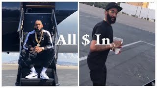 Nipsey Hussle Gets His Brother From Jail And Teams Up With G-Eazy To Give Back To Kids 🏁