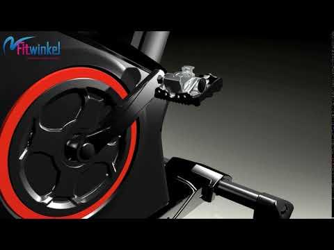Kettler racer S spinbike - Het pedaal