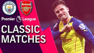 Manchester City v. Arsenal | PREMIER LEAGUE CLASSIC MATCH | 1/18/15 | NBC Sports