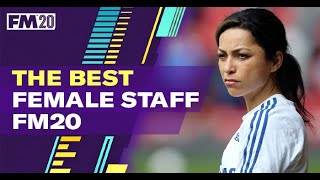 Best Female Staff Football Manager 2020