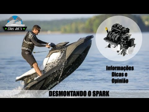 Analise do Sea-Doo SPARK / Review / First Ride / Minha Opnião  Jet Ski Elias Jets