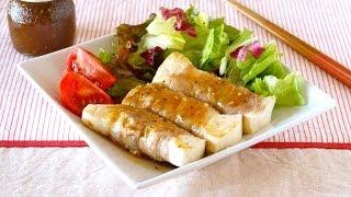 How to Make Tofu Steak Salad (Recipe) 豆腐ステーキサラダ (レシピ)