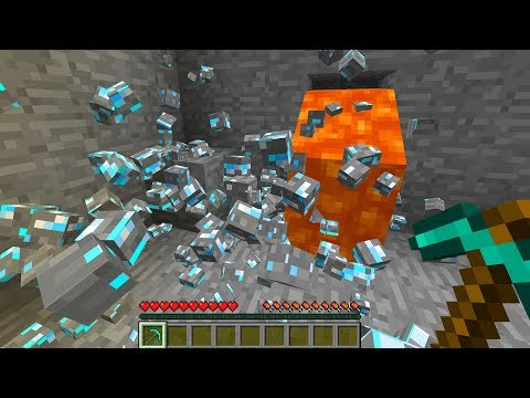 REALISTIC PHYSICS in Minecraft?!! - Realistic Physics Mod