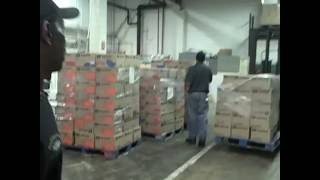 A Day in the CAFB Warehouse