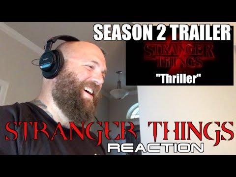 STRANGER THINGS SEASON 2 TRAILER REACTION! SDCC!