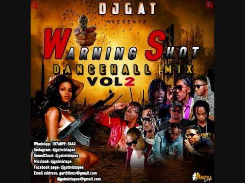 DANCEHALL MIX DJ GAT WARNING SHOT VOL 2 DECEMBER FT ALKALINE/VYBZ KARTEL/MAVADO/AIDONIA