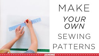 How To Make Sewing Patterns From Your Favorite Clothes!