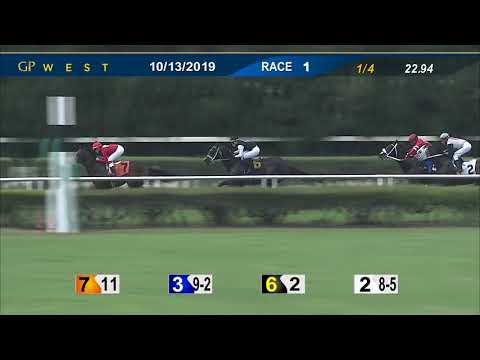 Gulfstream Park West October 13, 2019 Race 1