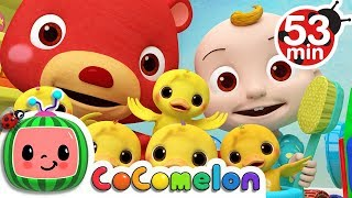 The Duck Hide and Seek Song | +More Nursery Rhymes & Kids Songs - Cocomelon (ABCkidTV)