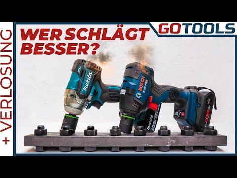 🔥 Bosch vs Makita   Der Schlagabtausch 🤛 in der Werkstatt !!! 🔔 inkl. Verlosung 🔔