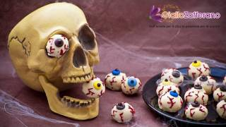 Bloody Eyeballs - Halloween Recipe