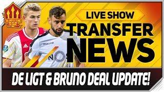 De Ligt Tielemans Bruno Fernandes! Man Utd Transfer News
