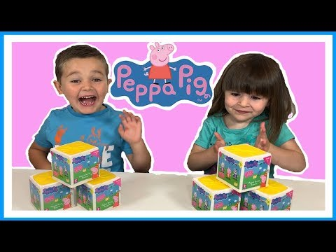 PEPPA PIG - What's inside Pepps's SECRET SURPRISE party BOX?! Toy Unboxing Fun!