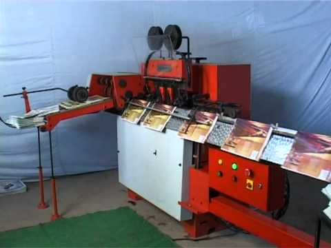 2-Head Saddle Wire Stitcher