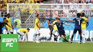 'Disastrous start': What went wrong for Colombia in 2-1 loss to Japan in 2018 World Cup | ESPN FC