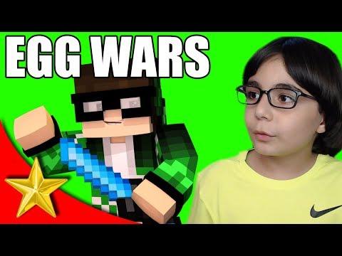 ACI DOLU SAVAŞ! Minecraft EGG WARS