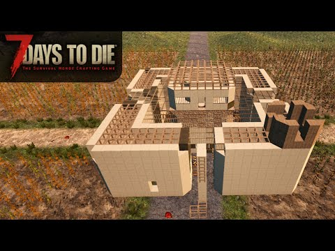 Zombie Horde in 2 Days, Gonna Be Ready | 7 Days to Die | Alpha 17 Gameplay | E37