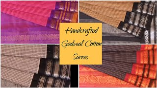 Traditional Gadwal Cotton Sarees