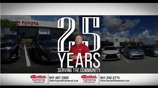 "<h5>Gettel Toyota ""25th Anniversary""</h5>"