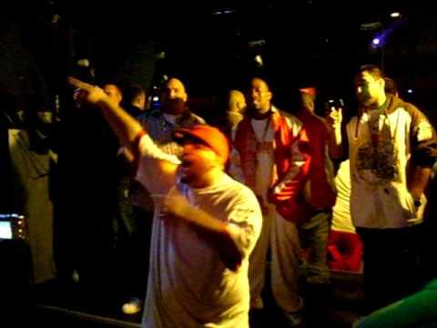 KP, Dmiles, James T Performing My Swag @ Azucar Nite Club.AVI
