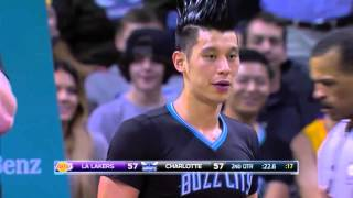 林書豪Jeremy Lin's Offense & Defense Highlights 2015-12-29 Hornets VS Lakers