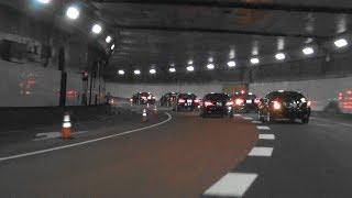 W222プルマンからの遂にLS総理警護車列遭遇!緊急走行箱乗りで首都高へ!