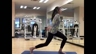 Dance It Easy Into Lunges/Not Easy