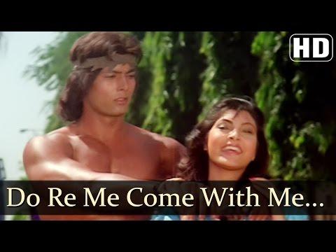 Do Re Me Comw With Me - Kimi Katkar - Tarzan - Old Hindi Songs - Bappi Lahiri - Sharon Prabhakar