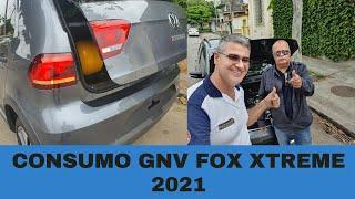 CONSUMO GNV VW FOX XTREME 2021 - DICA PRA FICAR BOM NO GAS!