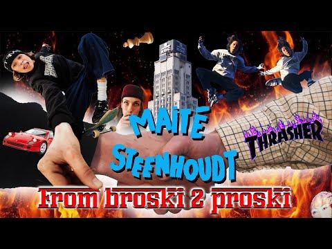 "Image for video Maité Steenhoudt's ""From Broski 2 Proski"" Video"